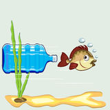 Ocean ekologia Obraz Stock