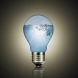 Ocean of energy inside. Stock Image