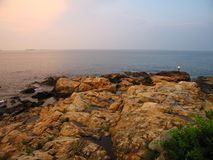 Ocean evening Royalty Free Stock Photo