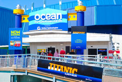 Ocean Explorer Center at Mystic Aquarium Royalty Free Stock Images
