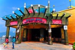 Ocean express entrance at ocean park, hong kong Royalty Free Stock Images