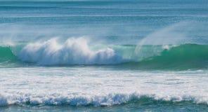 Ocean fala Obrazy Royalty Free