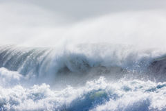 Ocean fala burze Obraz Royalty Free