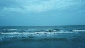 Ocean fala latają zbiory wideo