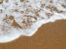 Ocean fala na plażach Fotografia Stock