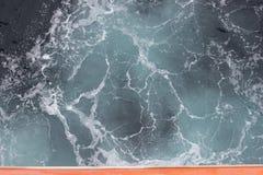Ocean fala Od Above zdjęcie royalty free