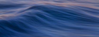 Ocean fala sztandar Obraz Royalty Free