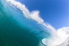 Ocean fali wody fotografii zbliżenie obrazy stock