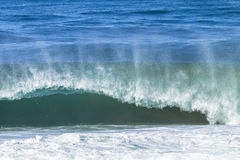 Ocean Falowa władza Obraz Stock