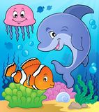 Ocean fauna topic image 2 Royalty Free Stock Photography