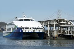 Ocean Ferries Stock Photo