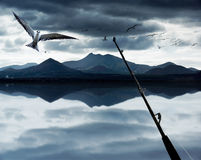 Ocean Fishing Royalty Free Stock Images