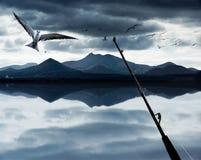 Ocean Fishing Royalty Free Stock Images