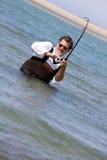 Ocean Fishing royalty free stock image
