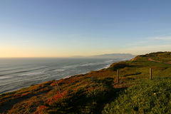 Ocean front. The ocean front right south of Ocean Beach in San Francisco, California Stock Photography