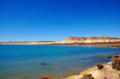 The ocean in front of Cerro Avanzado Stock Images