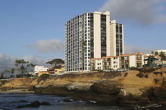 Ocean Front at La Jolla Cove, California Stock Photography