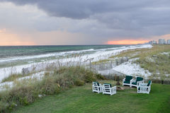 Ocean front property Stock Photography