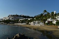 Ocean Front Resort Stock Image