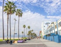 Ocean front walk,Venice Beach Stock Photo