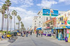 Ocean front walk,Venice Beach Stock Photos