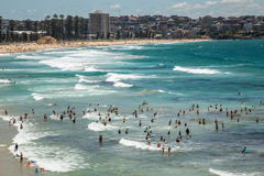 Ocean fun in Manly Royalty Free Stock Photography