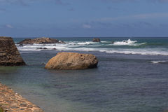 Ocean at Galle Stock Photography