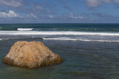 Ocean at Galle Stock Images