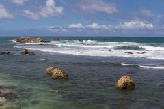 Ocean at Galle Royalty Free Stock Photos