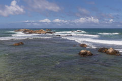 Ocean at Galle Stock Image