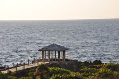 Ocean Gazebo Stock Images