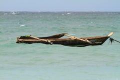 Ocean going canoe Royalty Free Stock Photography