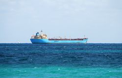 Ocean going cargo ship Stock Image