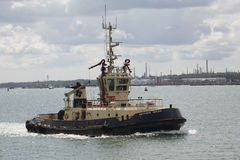 Ocean going tug on Southampton Water UK Stock Photography