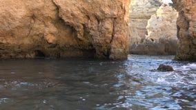 Ocean grota i woda zbiory wideo