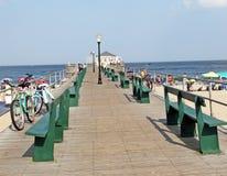 Ocean Grove Fishing Pier Stock Photos