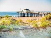 Ocean Grove Fishing Pier Stock Photo