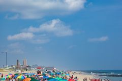 Ocean Grove New Jersey Beach royalty free stock images