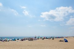 Ocean Grove New Jersey Beach Royalty Free Stock Photo