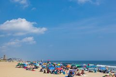 Ocean Grove New Jersey Beach stock photography