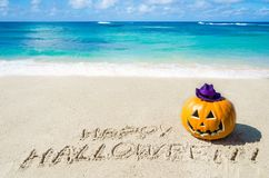Ocean Halloween background Royalty Free Stock Image