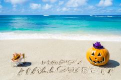 Ocean Halloween background Royalty Free Stock Images