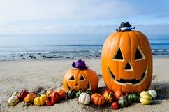 Ocean Halloween background Stock Photos
