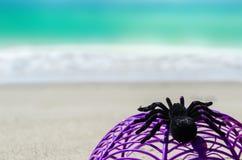 Ocean Halloween background Stock Images