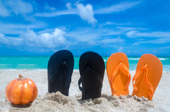 Ocean Halloween background Royalty Free Stock Photography
