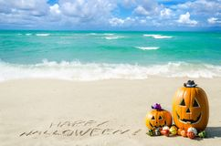 Ocean Halloween background Royalty Free Stock Photo
