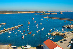Ocean harbor, Portugal Royalty Free Stock Image