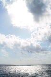 Ocean horizon and sky Royalty Free Stock Photos