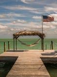 Ocean hut Royalty Free Stock Photos