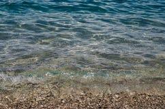 Ocean i otoczaki Fotografia Royalty Free